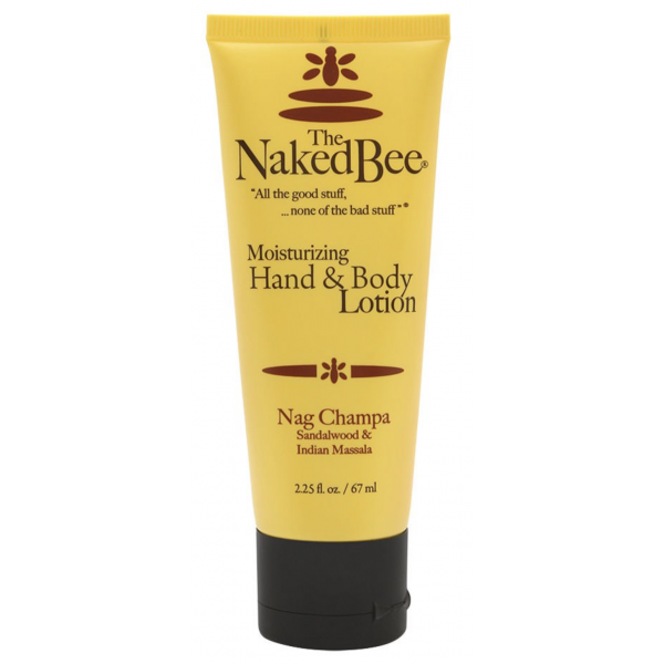 The Naked Bee Nag 2.25oz. Champa Hand & Body Lotion