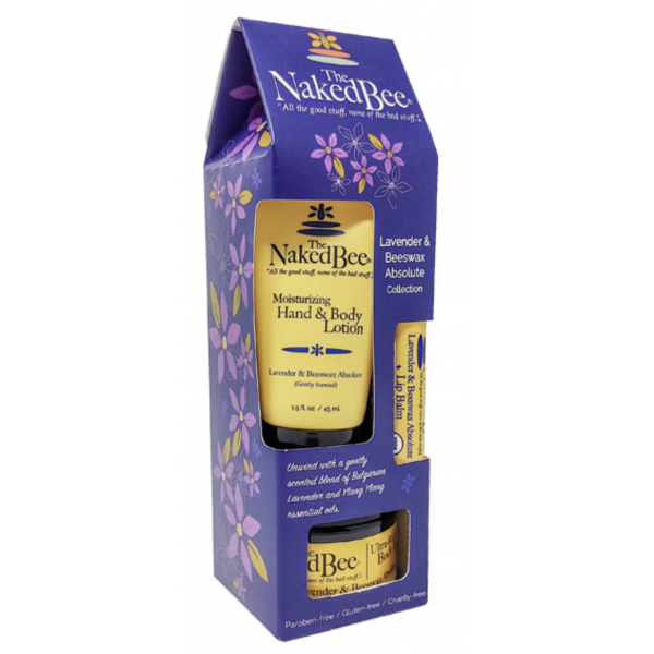 The Naked Bee Lavender & Beeswax Absolute Gift Collection