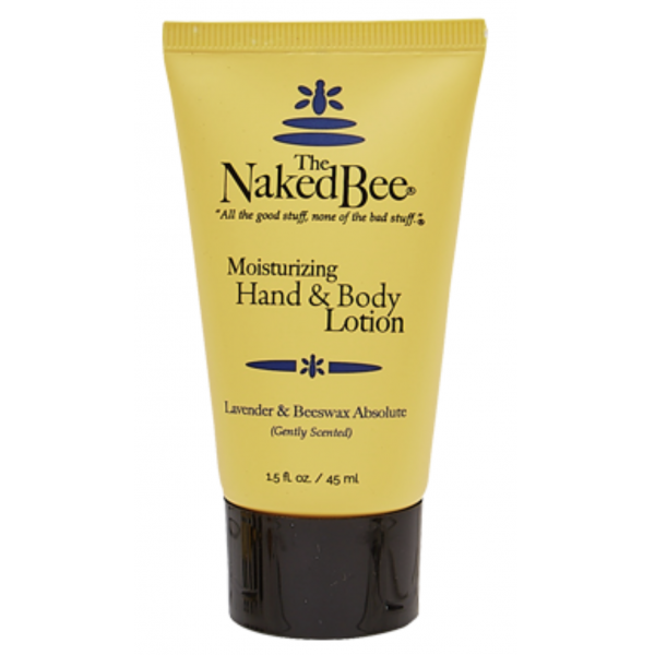 The Naked Bee 1.5oz. Travel Lavender & Beeswax Absolute Lotion