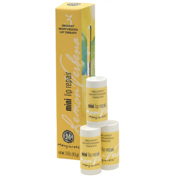 Lemon Verbena Natural Mini Lip Repairs by Mangiacotti