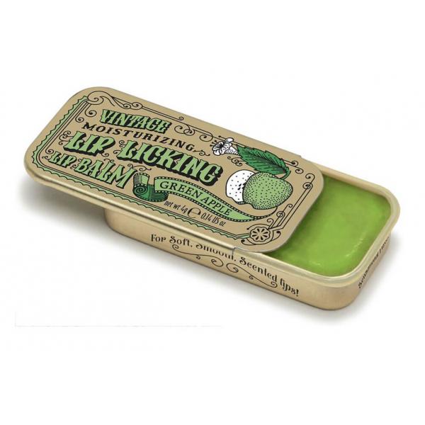 Vintage Lip Licking Green Apple Lip Balm