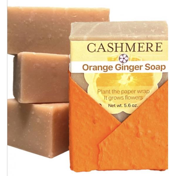 Cashmere Orange Ginger Soap