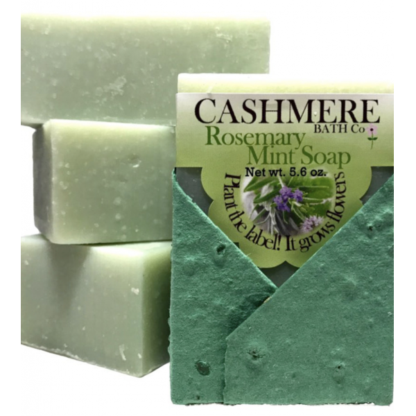 Cashmere Rosemary Mint Soap