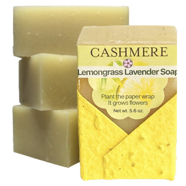 Cashmere Lemongrass Lavender Soap