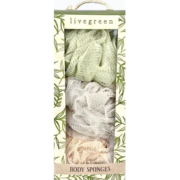Livegreen Body Sponges