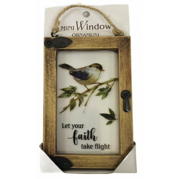 Ganz Mini Window Faith Plaque