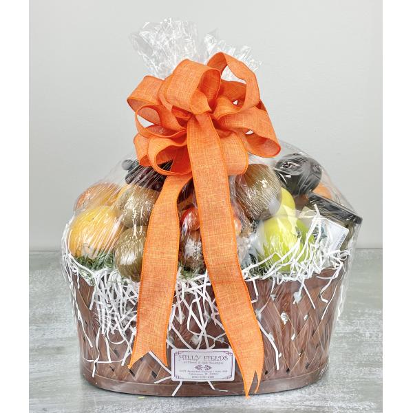 Assorted Fruit & Gourmet Basket