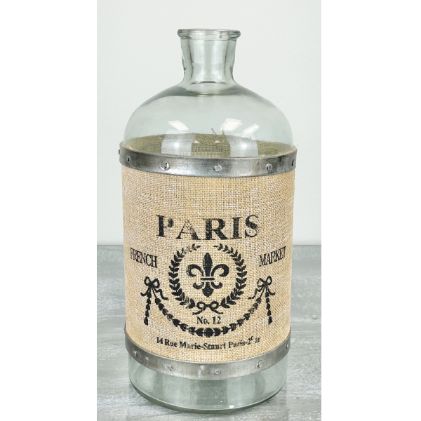 The Country House Collection Large Paris Bottle