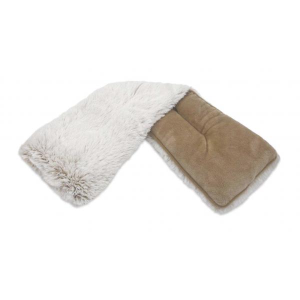 Marshmallow Brown Warmies Neck Wrap (19