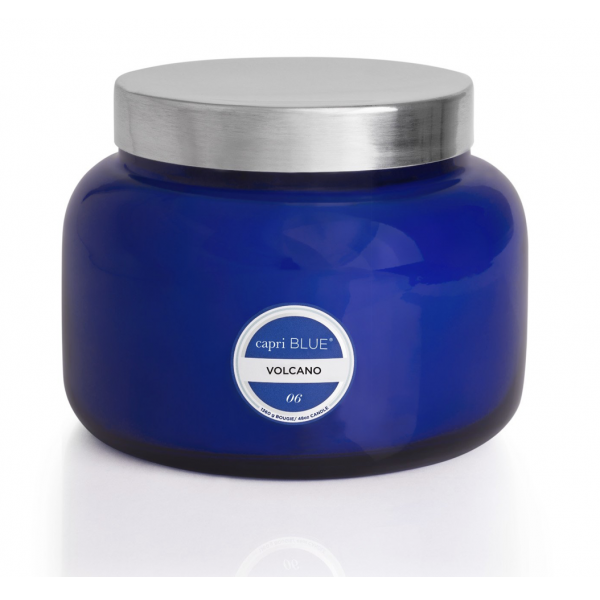 Capri Blue Volcano Blue Signature Jar, 19 oz