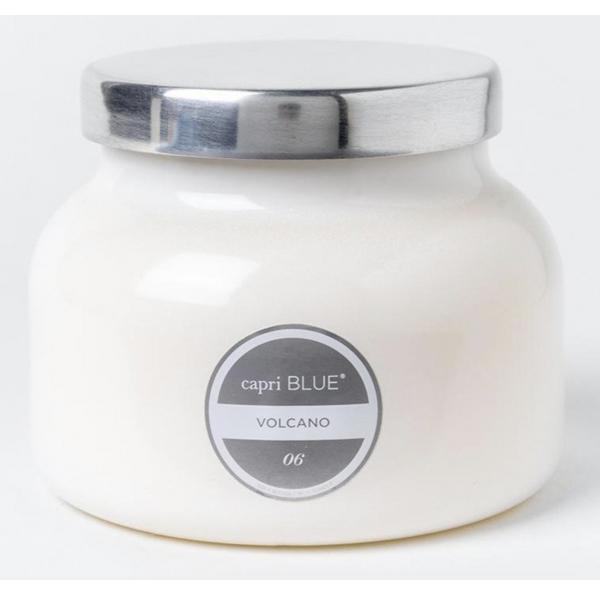 Capri Blue Volcano White Signature Jar, 19 oz