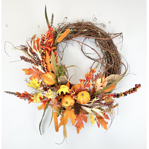 The Giving Grapevine Permanent Wreath