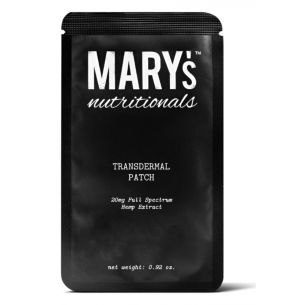 Mary's Transdermal Patch – 20mg
