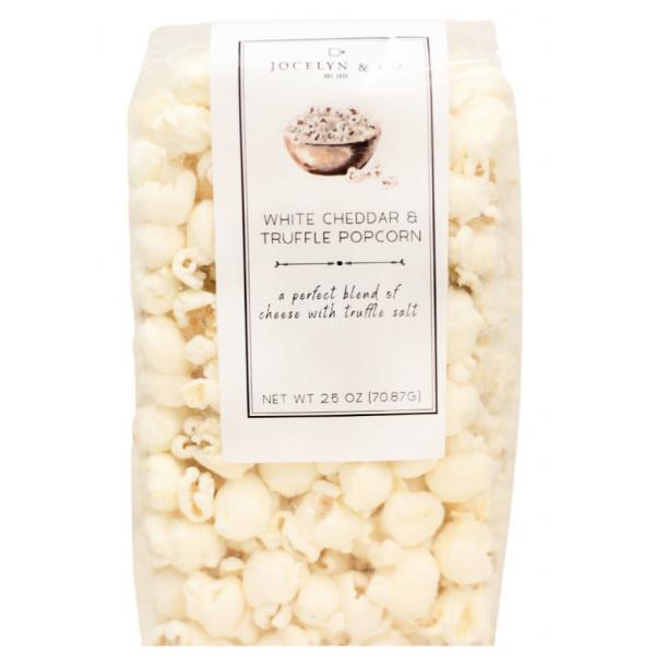Jocelyn & Co White Cheddar & Truffle Popcorn