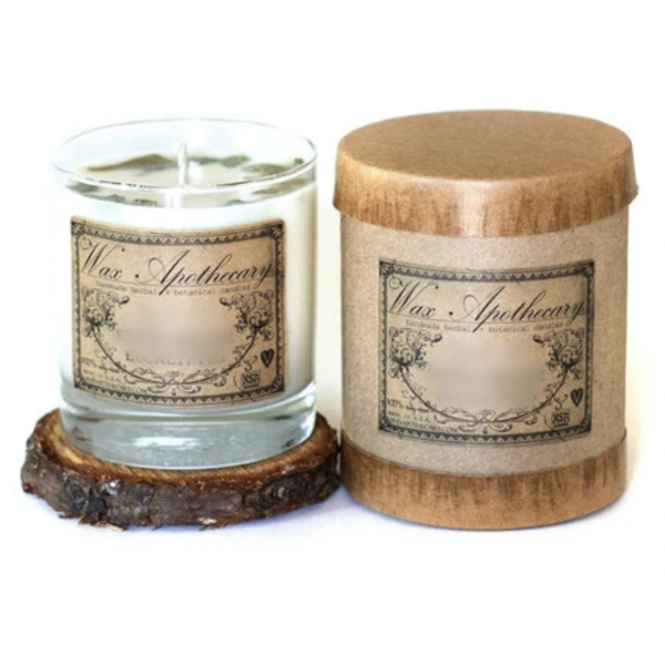Wax Apothecary Patchouli 7oz Botanical Candle In Scotch Glass