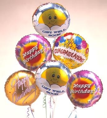 Half Dozen Mylar Balloons