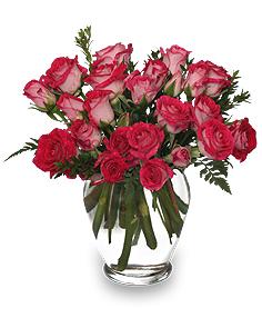 Petite Spray Rose Arrangement