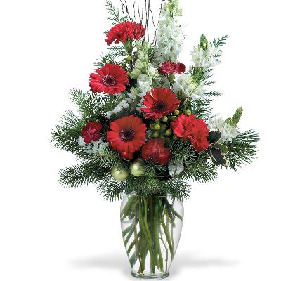 Holiday Beauty Vase