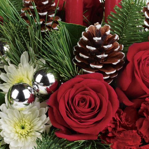 Florist Designed Holiday Centerpiece