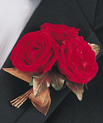 Gilded Romance Boutonniere