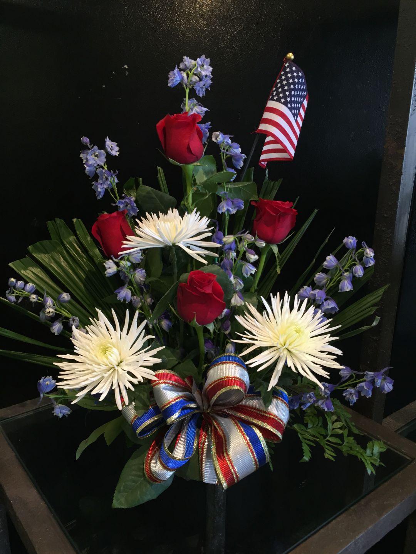 Large Memorial Day Tribute