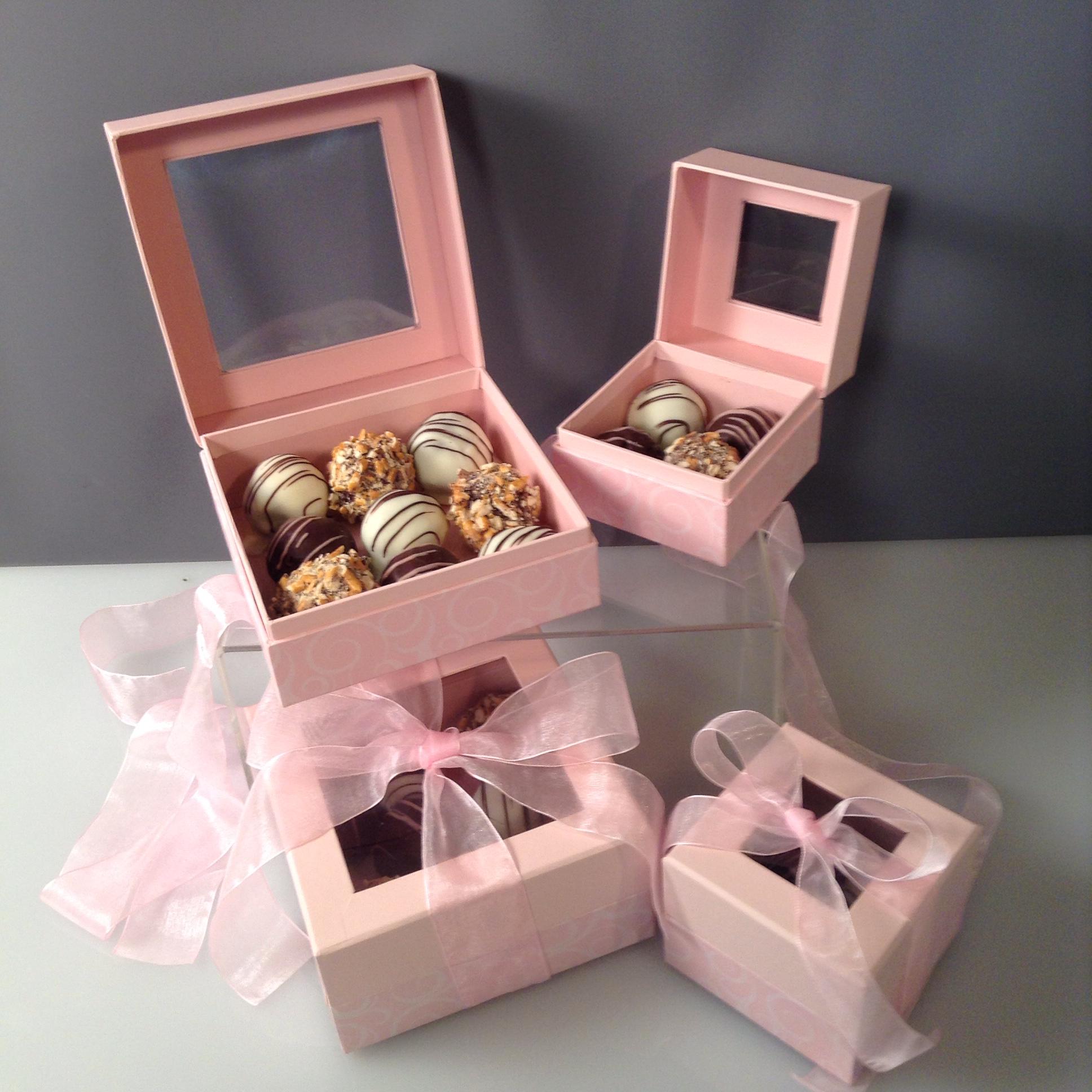 Truffles Pink Box