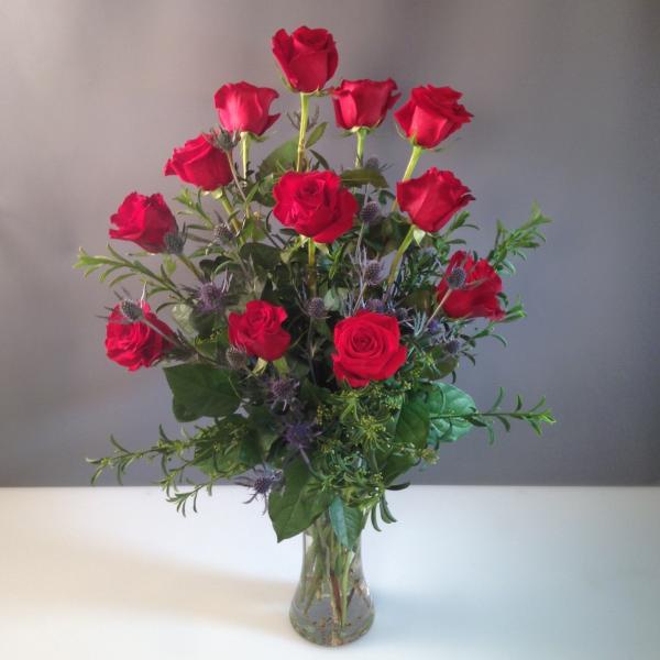 Roses Dozen Red