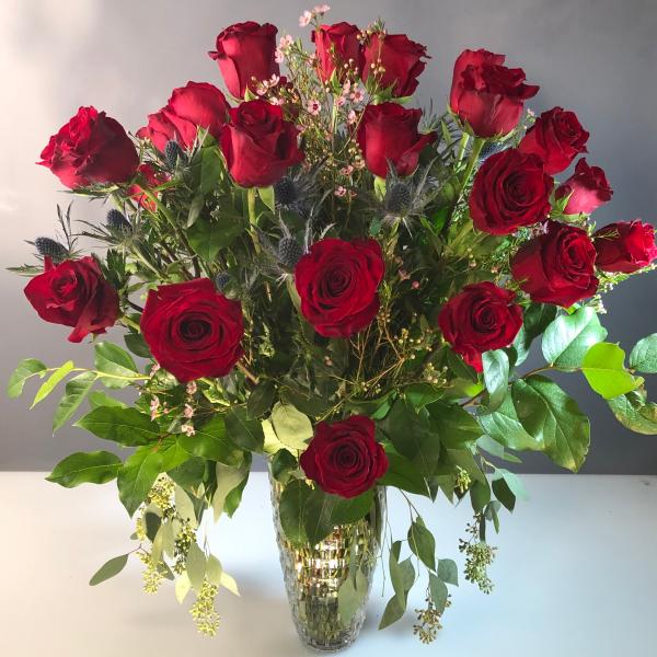 Roses Two Dozen Red