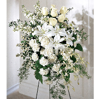 Reno & Sparks Flower Delivery | Sparks Florist® - Sparks Quiet Tribute Standing Spray