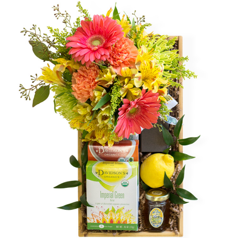 Reno & Sparks Flower Delivery | Sparks Florist® - Reno Tea Time Gift Crate