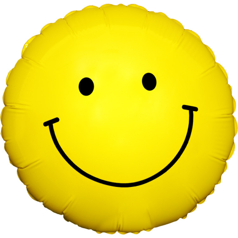 Sparks Florist® - Sparks Smiley Face Mylar Balloon