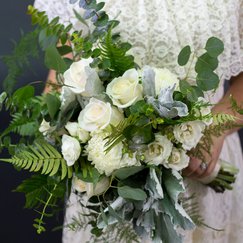 Bridal Garden Bouquet