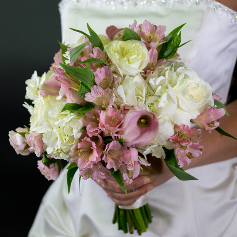 Pink Romance Bridal Bouquet