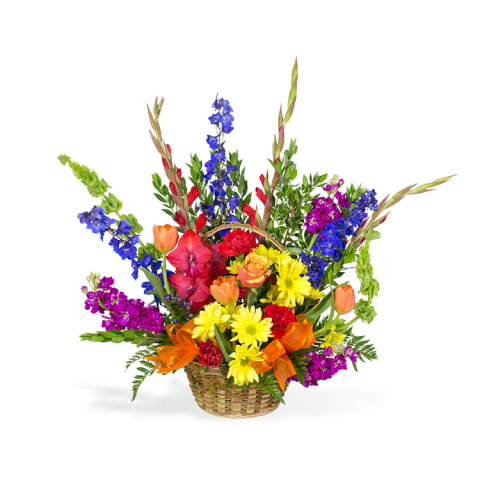 Reno & Sparks Flower Delivery | Sparks Florist® - Sparks Call Me Colorful Basket