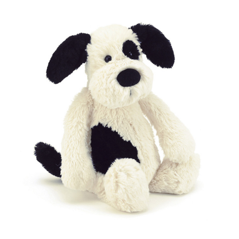Keepsake Black & Cream Puppy