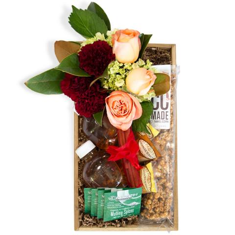 Sparks Florist® - Sparks Hot Cider Gift Crate