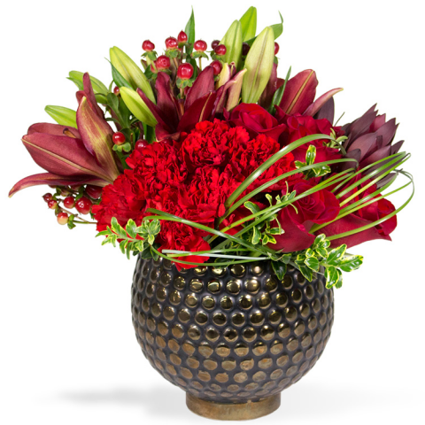 Sparks Florist® - Sparks Crimson Classic (free standard delivery* w/ code XMAS18)