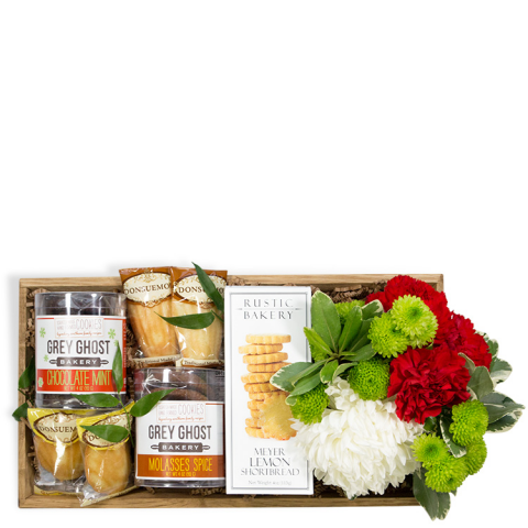 Christmas Cookie Gift Crate