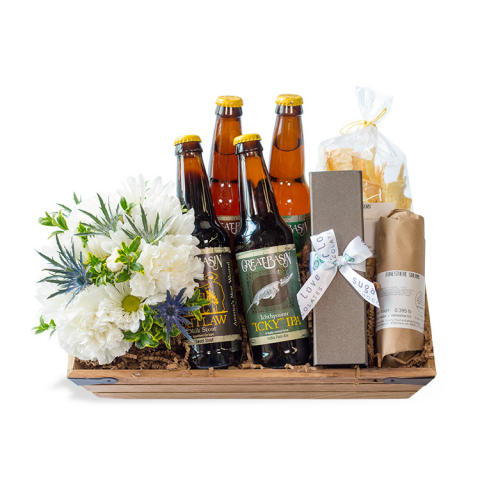 Battle Born Gift Crate w/ Beer