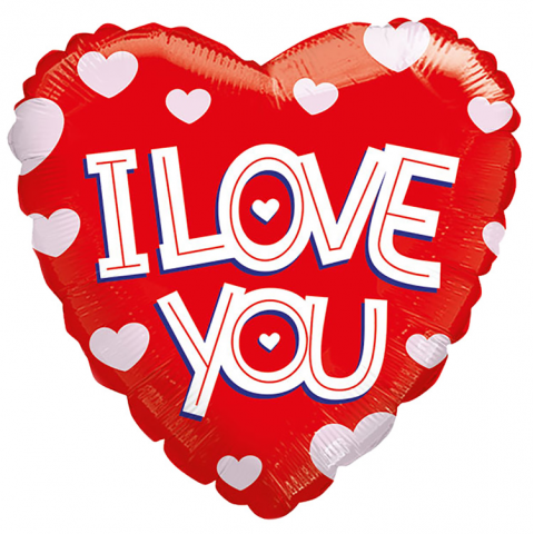 Reno & Sparks Flower Delivery | Sparks Florist® - Reno I Love You Mylar Balloon