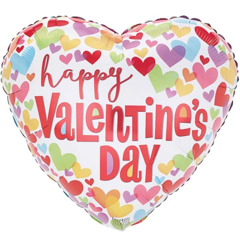 Reno & Sparks Flower Delivery | Sparks Florist® - Reno Happy Valentine's Day Mylar Balloon