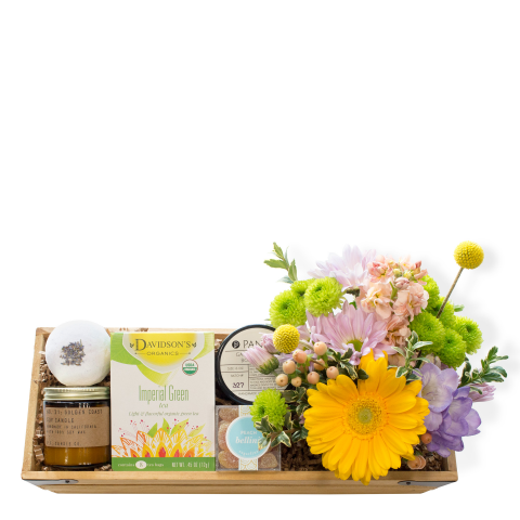 Sparks Florist® - Sparks Relax & Renew Gift Crate