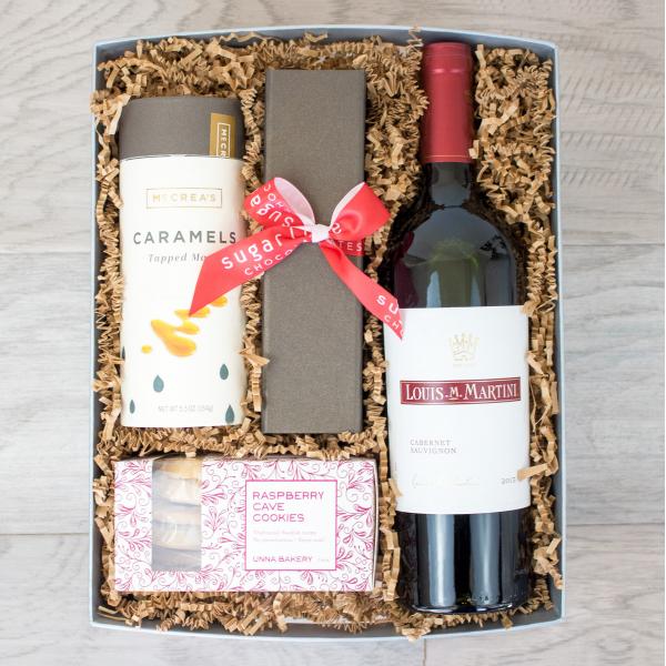 Reno & Sparks Flower Delivery | Sparks Florist® - Reno Celebrate Gift Crate