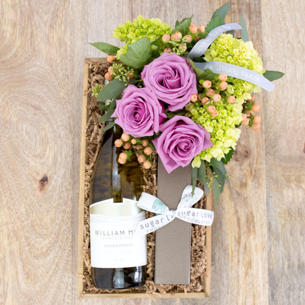 Reno & Sparks Flower Delivery | Sparks Florist® - Sparks Better Together Gift Crate - Small