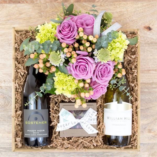 Reno & Sparks Flower Delivery | Sparks Florist® - Sparks Better Together Gift Crate - Large