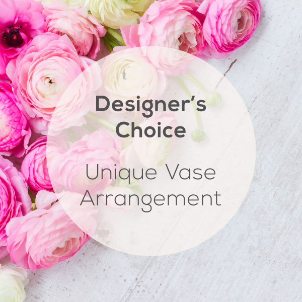 Reno & Sparks Flower Delivery | Sparks Florist® - Sparks Designer's Choice - Unique Vase Arrangement