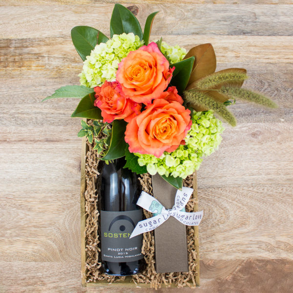 Reno & Sparks Flower Delivery | Sparks Florist® - Reno Better Together Gift Crate - Small