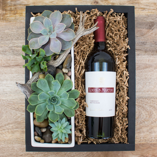 Reno & Sparks Flower Delivery | Sparks Florist® - Reno Succulents & Wine