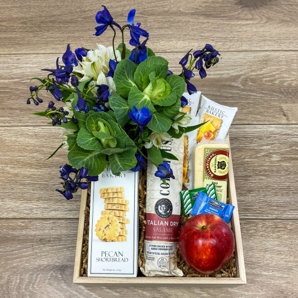Savory & Sweet Gift Crate - Small