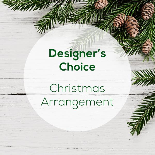 Designer's Choice<br>Christmas Vase Arrangement